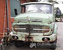 Daimler Benz Hauber LAK 1620 LAK Kipper Foto 2