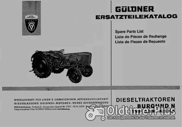 Güldner Burgund A3K/A3KA Ersatzteilkatalog im PDF-Format Foto 1