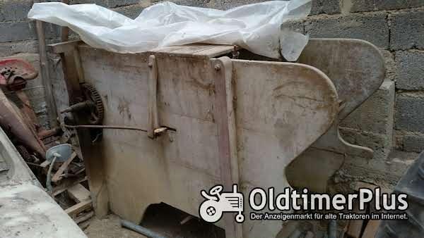 Fochmühle Getreidereinigungsmaschine Foto 1