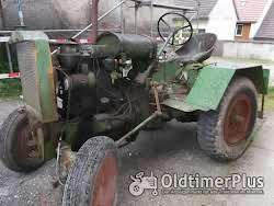 Eigenbau Traktor mit MWM KD 15Z Motor