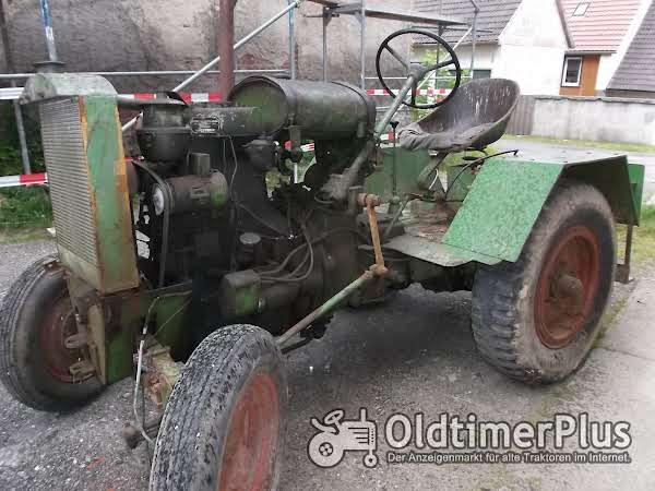 Eigenbau Traktor mit MWM KD 15Z Motor Foto 1