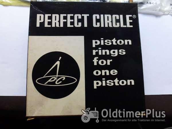 Perfect Circle Kolbenringe für Deutz Motor FL 812 Foto 1