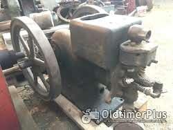 Standmotor IHC Deering 1,5PS Benzinmotor Typ M, kleinster gebauter Foto 5