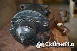 Allgaier A22 Motor Haube und Teile Foto 3