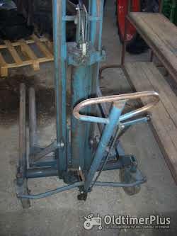 Montagehebegerät, mobil, mit Hydraulikzylinder Foto 4