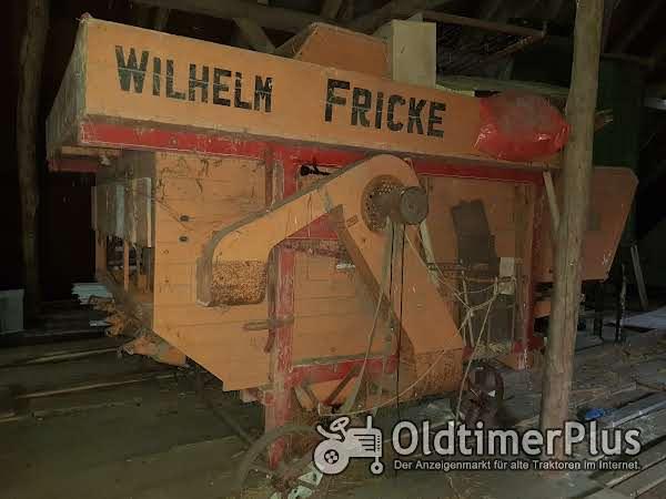 Fricke Dreschmaschine Foto 1