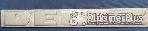 Wasserdeutz Schriftzug embleme, Buchstaben Alu Foto 1