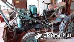 Eigenbau Diesel Traktor mit Schiebeschild, Schaufel & Stabler Foto 3