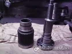 Fendt Farmer Favorit, Case/IHC 1255 1455 Turbokupplung, Hohlwelle, Kupplungswelle, Zahnwelle, Antriebswelle Foto 7