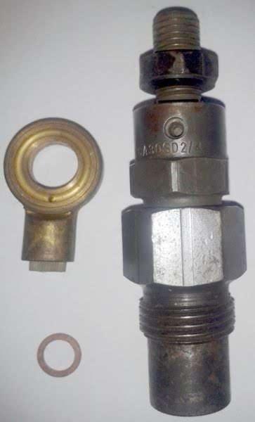 Hanomag 4 x Einspritzventil - KCA30SD2/4 5S 115a tu - vermutlich Hanomag Foto 1