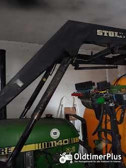 John Deere 1140 X-E Serie mit Frontlader Foto 6