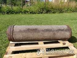 2 alte Sandstein Walzen Foto 5