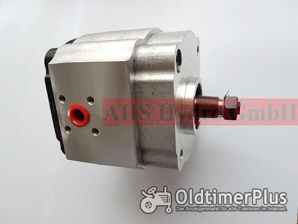 Calzoni TK Caproni Hydraulikpumpe MB Trac 700 MB Track 800, MB Trac 900 IPF3-16 144, IPSF 3-16 144 Foto 1