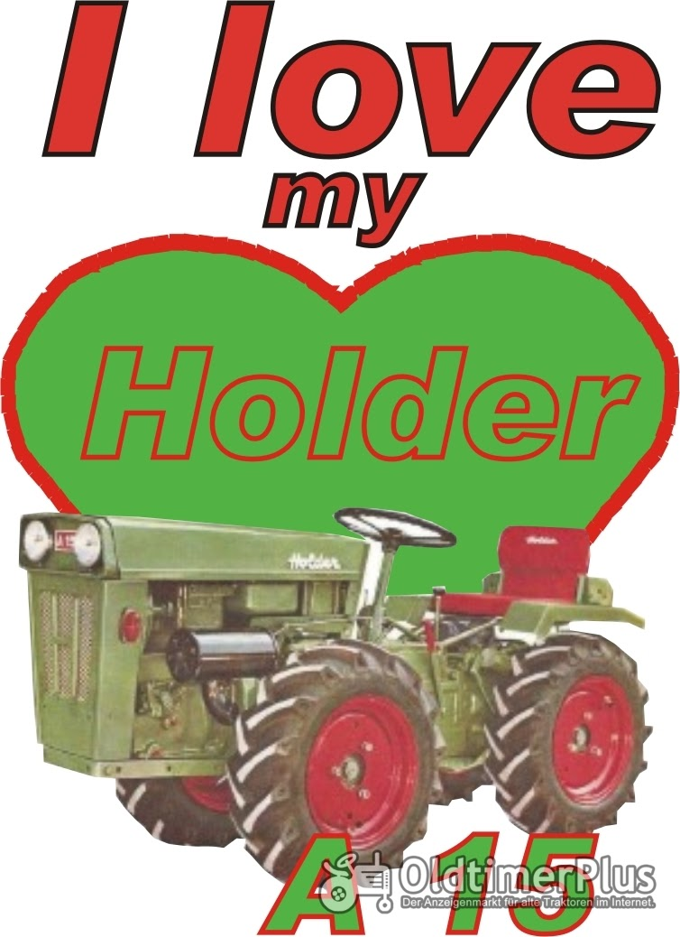 I love Holder A 15  T-Shirt Foto 1
