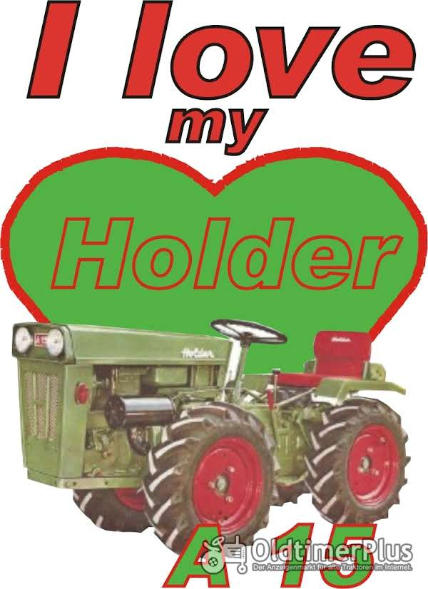 I love Holder A 15  T-Shirt Foto 1