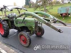 Fendt Farmer 3 S mit Verdeck Frontlader Schnellgang in Original Patina photo 5