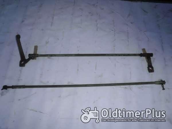 Fendt Fix 1 Schub und Spurstange Foto 1