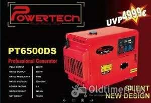 Diesel Generator - PT6500DS-bis zu 5,2 KW Neuware OVP Foto 1