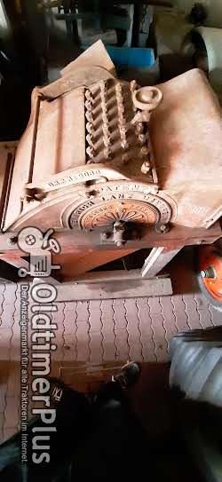Lanz Stiftedrescher Dreschmaschine