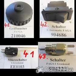 FAGA, MTD, Viking, Stiga, IBEA, Rasenmäher, Balkenmäher, Rasentraktor, Motorgeräte, Ersatzteile Foto 10