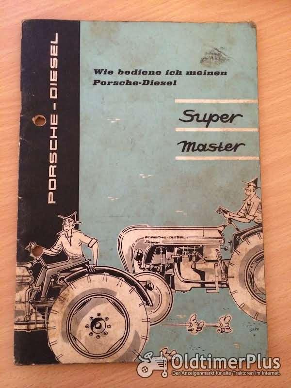 Porsche Super Master Bedienungsanleitung Foto 1