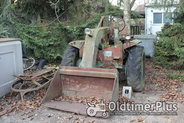 Schopf Oldtimer Radlader Foto 1