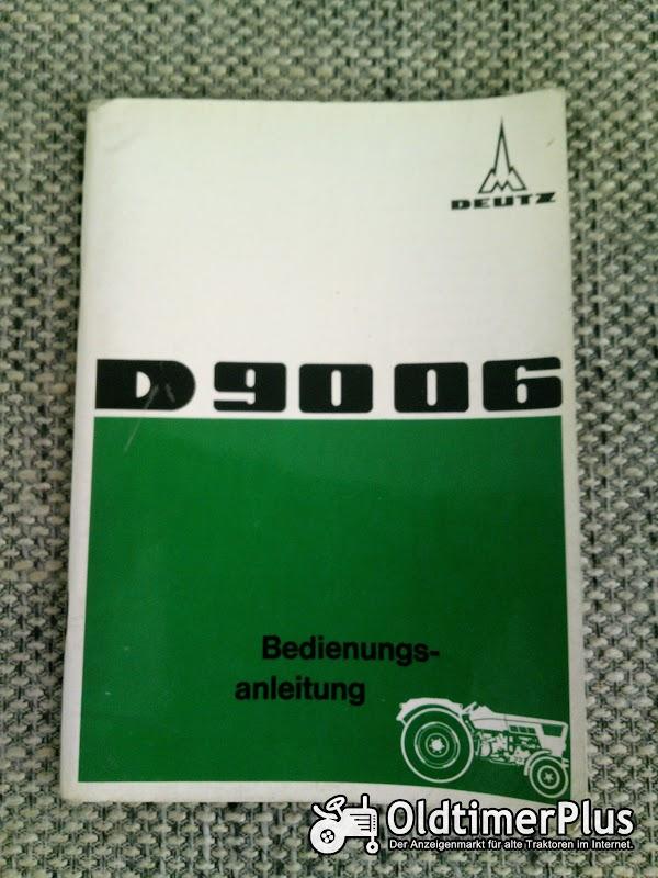 Deutz D 9006 Bedienungsanleitung Foto 1