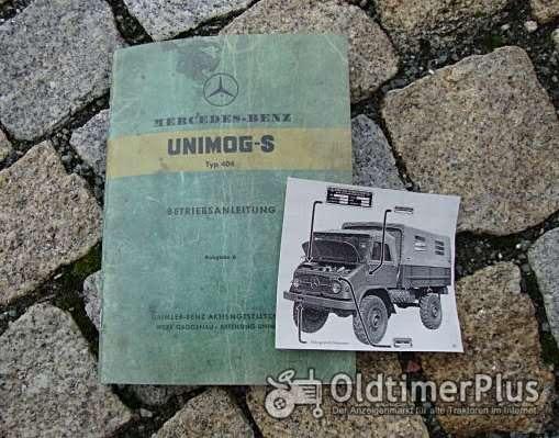 Betriebsanleitung Unimog 404 S 1956 Bundeswehr Foto 1