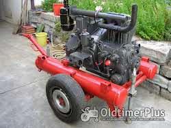 Deutz F2L 713 Motor auf Fahrgestell Foto 4