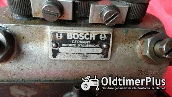 Bosch Einspritzpumpe Hanomag 324 Foto 1