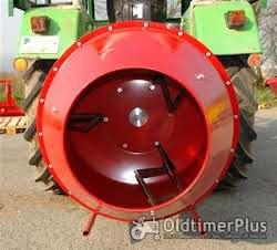 Betonmischer Futtermischer für Traktor Ø 45 cm Dreipunkt Aufhängung KAT 1 Foto 3