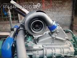 Detroit Diesel 2Takt Turbo Kompressor 8V92 TA 600hp Detroit Diesel Motor top! Boot US Truck pulling Foto 2