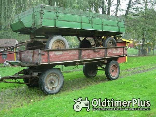diverse Traktoranhänger Foto 1
