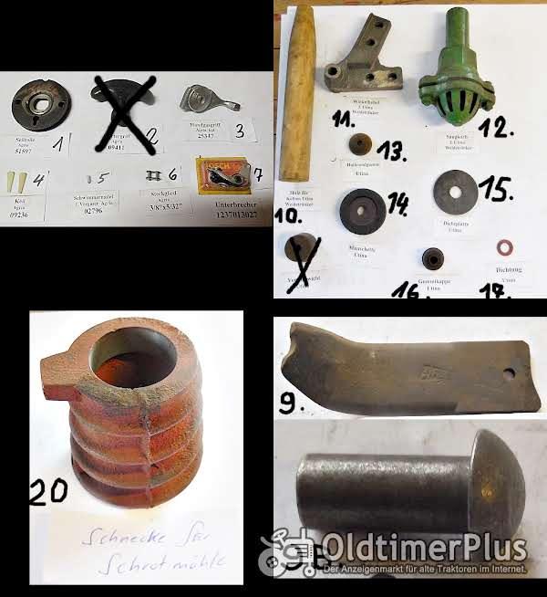 Agria, Utina, Schmotzer, Bosch Ersatzteile, Motorfräse, Weidetränker, Schrotmühle Foto 1