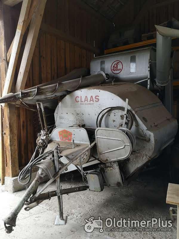 Claas Junior Automatic Mähdrescher Foto 1