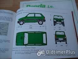 orig. Betriebsanleitung Fiat Panda I 1992 Foto 3