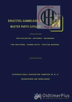 IHC Mc Cormick Farmall en International werkplaatsboeken  handleidingen en onderdelenboeken Foto 9