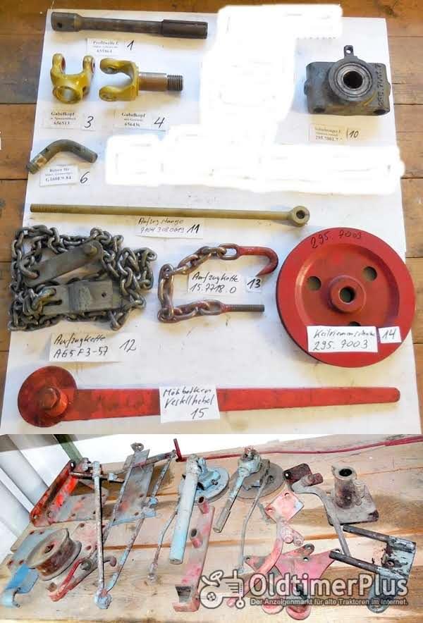Eicher Mähwerk, Teile, Ersatzteile, Mähwerkrahmen, usw. Foto 1