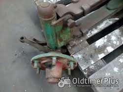 Deutz F3l514 Vorderachse foto 2