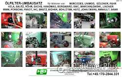 Porsche Diesel Master Super Standard Junior Allgaier Ölfilter Umbausatz Adapter Foto 3