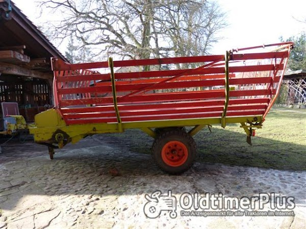 Claas Anhänger 2,7 t Foto 1