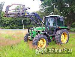 John Deere 2140 Frontlader+Druckluft Foto 2