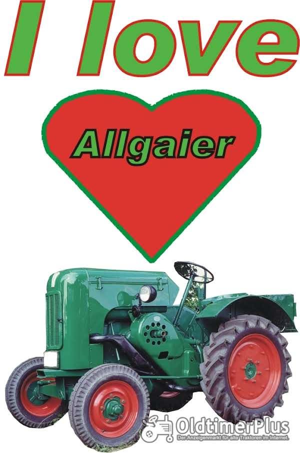 I love Allgaier A 22 T-Shirt Foto 1