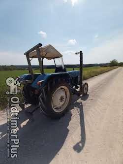 Ford 2000 Dexta mit vollhydraulischem Mähwerk Foto 6