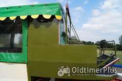 Eisenwerk Grümer Planwagen - Anhänger – Einzelstück – Typ DB 8000 – DB 80 Foto 11