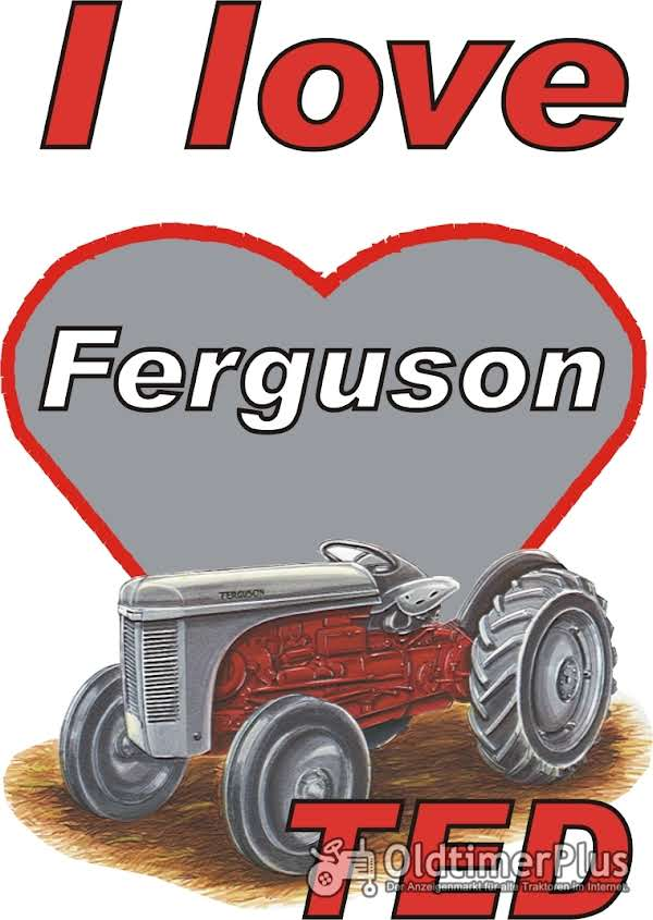 I love Ferguson TED T-Shirt Foto 1