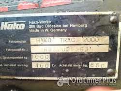 Sonstige Kleintraktor Hakotrac Hako Trac 2000 Schneeschieber Foto 6