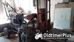 Eigenbau Diesel Traktor mit Schiebeschild, Schaufel & Stabler Foto 6