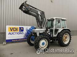 Ford 7810 Allrad Silver Jubilee with loader 5500 hours !