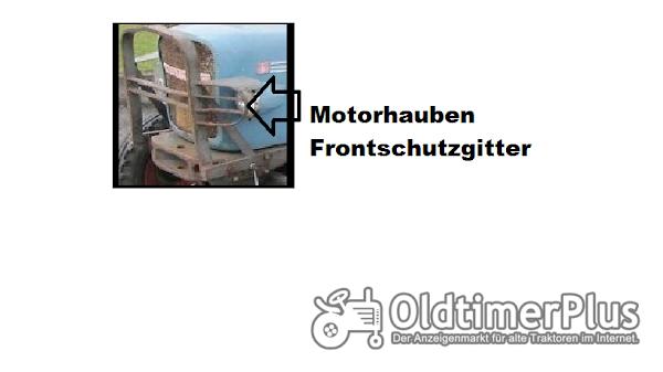 Eicher Frontschutz Gitter Foto 1
